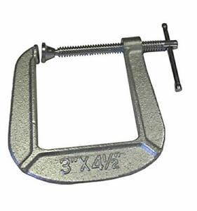 Cast Steel Deep Throat Clamp For Classical Acoustic Guitar Bridge Repair Tool US