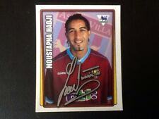 Merlin Football Sticker #34 2001-02 Moustapha Hadji Aston Villa Mint Condition