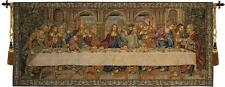 The Last Supper VII Italian Wall Hanging A - H 26 x W 62 Wall Tapestry