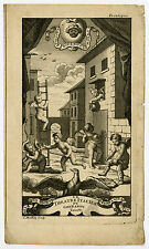 Antique Print-FRONTISPIECE-GHERARDI-MUSIC-THEATRE ITALIEN-Mathey-1714