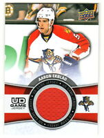 2015-16 Upper Deck UD GAME JERSEY RELIC #GJ-AE AARON EKBLAD Florida Panthers