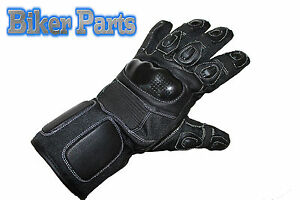 Sports Textile and leather Biker Motorcycle Motorbike scooter Waterproof Gloves