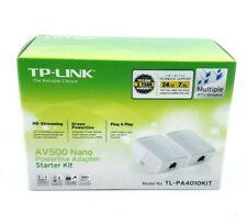 TP-Link AV500 Powerline Starter Kit - White