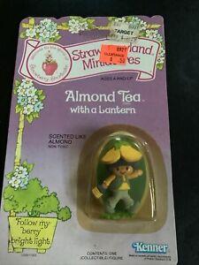 Strawberry Shortcake Miniatures Almond Tea with Lantern MOC 1982 Kenner
