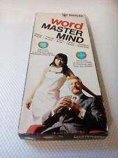 Word master mind Invicta board game 1975  Master mind board game