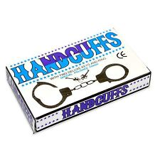 KIDS TOY METAL HANDCUFFS WITH KEYS HAND CUFFS POLICE FANCY DRESS ACCESSORIES UK