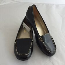Me Too Girls Patent Leather Loafer Shoes Black - Size 12M NWT