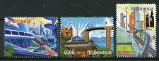 Indonesia 2018 MNH Path to 2045 3v Set Trains Rail Bridges Architecture Stamps