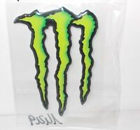 ADESIVO GRAFFIO MONSTER ENERGY 3D CM 11 X 7 DECALCO STICKERS STEMMA