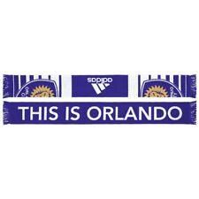 Orlando City SC MLS Adidas  Performance Purple Team Slogan Jacquard Scarf