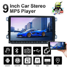 9INCH Car Stereo Android 8.1 Double Din Car FM MP5 Player Touch Screen