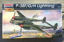 MONOGRAM PRO MODELER 1/48 WW II USAF P-38 F/G/H LIGHTNING FIGHTER  # 85-5974 F/S
