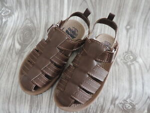 NEW Oshkosh B'gosh Boys Toddler Callum Brown Sandals 10