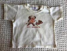 Vintage Disney Davey Crockett Jr. Toddler Baby Tshirt 1950's
