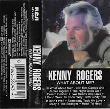1984 Audio Cassette Kenny Rodgers - What About Me? RCA Records!