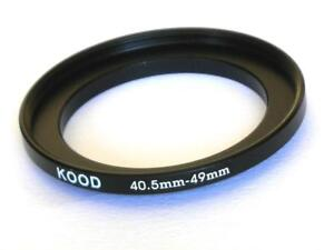 STEP UP ADAPTER 40.5MM-49MM STEPPING RING 40.5MM TO 49MM 40.5-49 FILTER ADAPTER