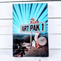 "ATARI ST Art Pak 1 by Aegis Development 1987 ""Clip-Art"" Big Box PC Software VTG"