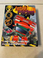 Fatal Racing PC CD-ROM 1996 Rare and Vintage in Original Big Box!