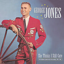 She Thinks I Still Care: The Complete United Artists Recordings, 1962-1964 [Bear Family [Box] by George Jones (CD, Nov-2007, 5 Discs, Bear Family Records (Germany))