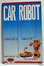 Car Robot Gumball Vending Machine Card / Old Stock