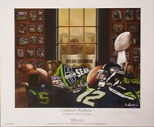 Seattle Seahawk Traditions Super Bowl Championship edition print by Greg Gamble