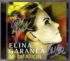 Elina GARANCA Karel Mark CHICHON Signed MEDITATION Gounod Mascagni Vasks Allegri