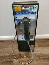 Original Vintage Payphone W/Keys! Metal Push Button  Telephone Sign Coin-Op