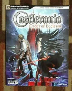 Castlevania Order Of Ecclesia Official Strategy Game Guide Nintendo DS
