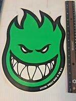 Spitfire Wheels, LARGE, Dealer Size,Ride The Fire, Skateboard Sticker, Original