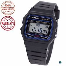 ORIGINAL CASIO F-91W ALARM CHRONOGRAPH CLASSIC DIGITAL WATCH . 1 YEAR WARRANTY