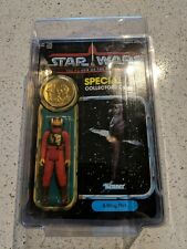Star Wars POTF B-WING PILOT 1984 MOC with Coin w/Starcase
