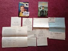 1975 & 1976 Star Trek Convention Booklets Programs Name Tags Letters Memorabilia