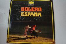 Bolero Espagna von Karajan Semkow Maazel Ravel Chabrier de Falla  (LP21)