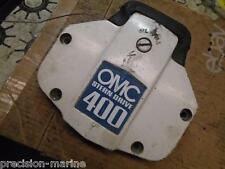 981098 Upper Exhaust Housing Cover & Bumper, 1978-'85 OMC Sterndrive 400