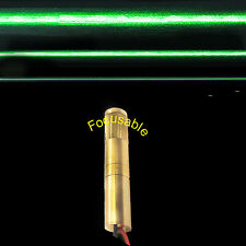 Focusable 532nm 200mW Green Laser LINE Module/Adjustable Beam Size/Green Laser
