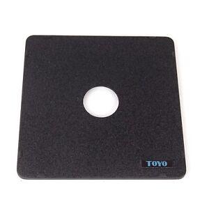 Toyo Standard Lensboard Copal #0 158mm Square Board #10101 Made In Japan