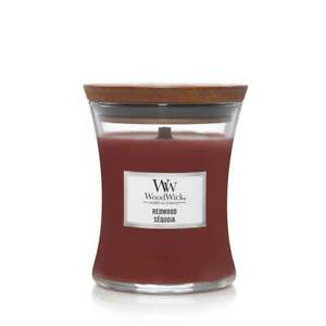 WoodWick Redwood Medium Jar Candle
