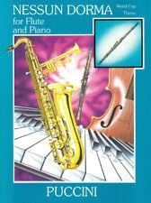 Giacomo PUCCINI: nessun Dorma (flauto & Pianoforte) NM489