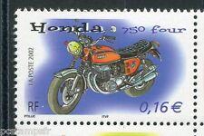 FRANCE 2002, timbre 3508, MOTO HONDA 750, neuf**, VF MNH STAMP, MOTORBIKE