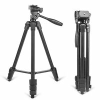 New Zomei T90 Portable Tripod with Phone Clip and Bluetooth Remote Black