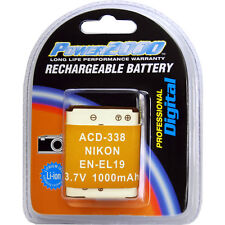 Power2000 EN-EL19 Rechargeable Battery for Nikon S2900 S4300 S3700 S5300 S6800