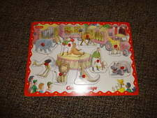 CURIOUS GEORGE PEG PUZZLE WOOD WOODEN