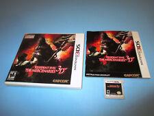 Resident Evil: The Mercenaries 3D (Nintendo 3DS) XL Game w/Case & Manual