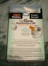 3 - Catgenie Sanisolution 120 Scent Free New Smart Cartridges 120 Washes Cat Box