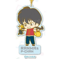 Ranma 1/2 Ranma and P-Chan Rumiko Takahashi Rubber Phone Strap NEW