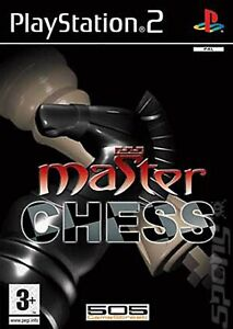 PS2 Master Chess PAL Gioco Usato con Manuale Playstation 2