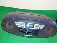 PANASONIC RX-DT37 Vintage FM Stereo CD Cassette Radio Tape Boombox Blaster LOUD