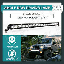 CREE LED WORK LIGH SLIM 21INCH 54W BAR SINGLE ROW DRIVING LAMP UTE ATV SUV JEEP