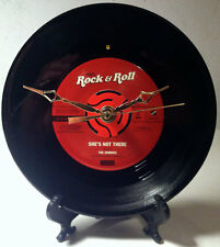 "Recycled THE ZOMBIES 7"" Record / She's Not There / Record Clock"
