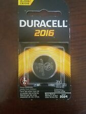 Duracell 3V Lithium Coin Batteries 2016 - 1 Count